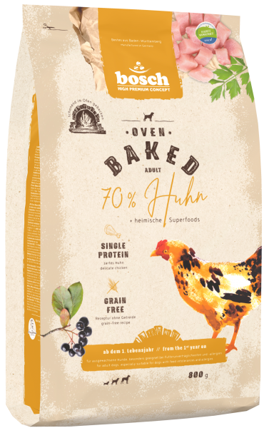 Oven Baked Adult |70 % Huhn