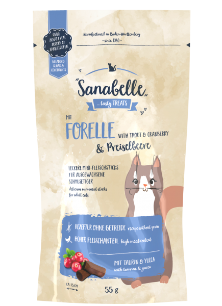 Forelle & Preiselbeere |Cat Sticks